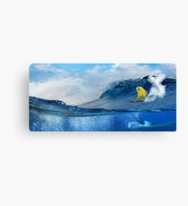 Surf Birder Canvas Print