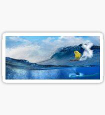 Surf Birder Sticker