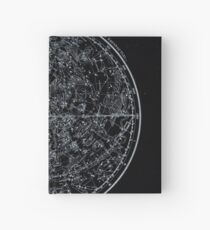 Constellations of the Northern Hemisphere | Pale Blue On Black Hardcover Journal