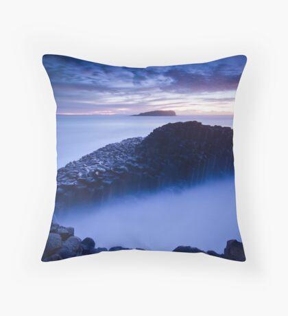 Ethereal Rocks Throw Pillow