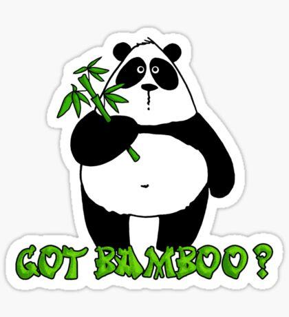 got bamboo? Sticker
