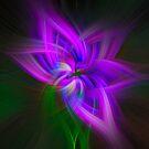 Fantasy flower by Celeste Mookherjee