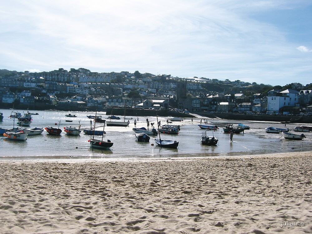 Harbourside, St Ives,Cornwall by julianne