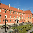 Stretch out in the sun - Warsaw Poland by Norman Repacholi