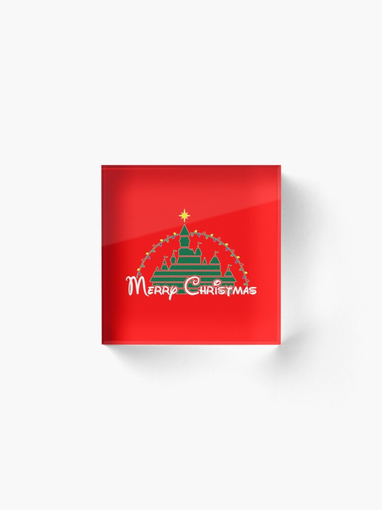 Alternate view of Magical Christmas Acrylic Block