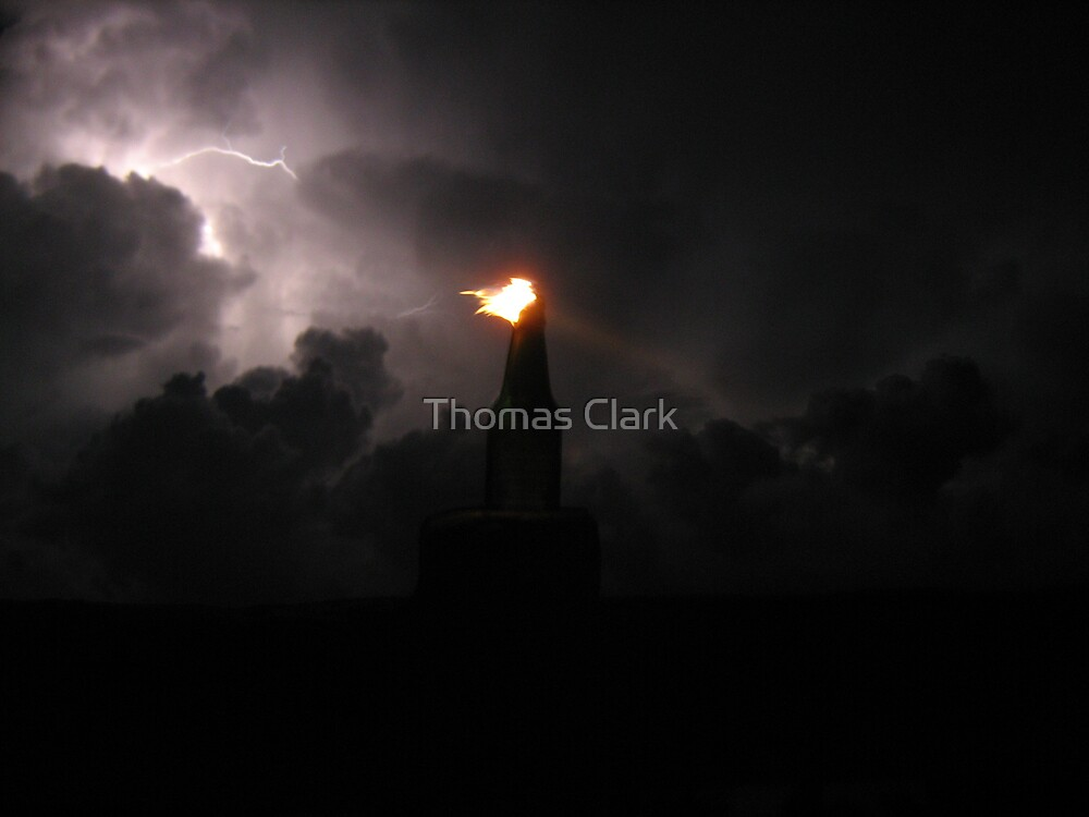 Firey Storm by Thomas Clark