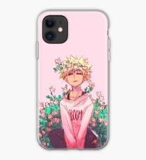 Bakugou in Pink iPhone Case
