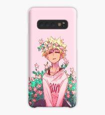 Bakugou in Pink Case/Skin for Samsung Galaxy