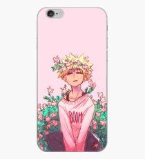 Bakugou im Rosa iPhone-Hülle & Cover