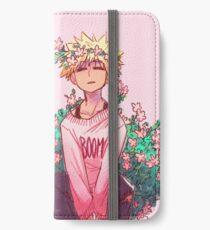 Bakugou in Pink iPhone Wallet/Case/Skin