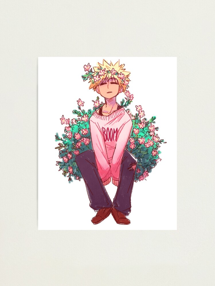 Alternate view of Bakugou in Pink Photographic Print