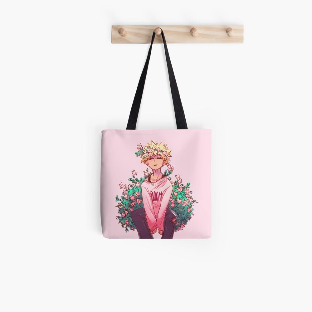 Bakugou in Pink Tote Bag