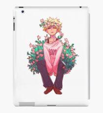 Vinilo o funda para iPad Bakugou en rosa