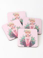 Bakugou in Pink Coasters