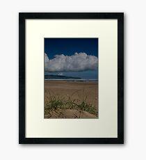 Benone Strand, N. Ireland Framed Print