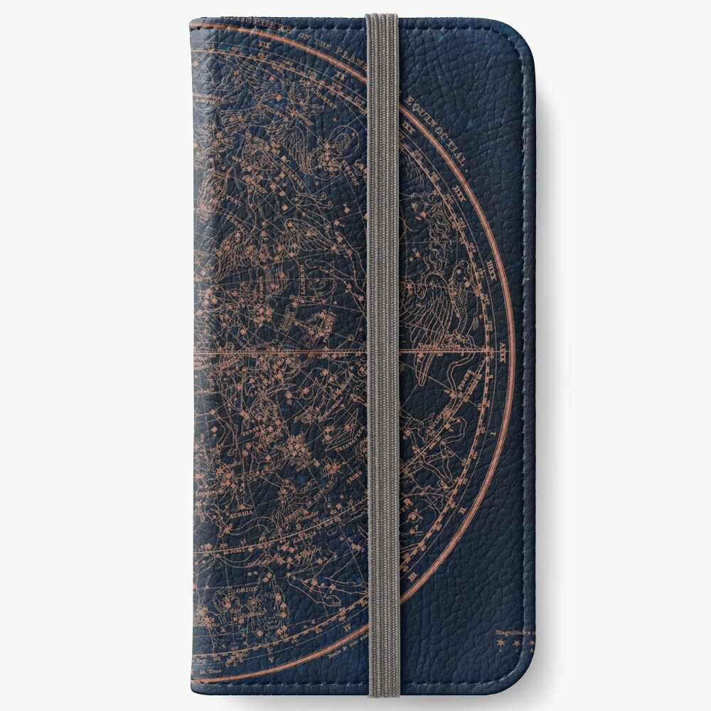 Constellations of the Northern Hemisphere iPhone Wallet