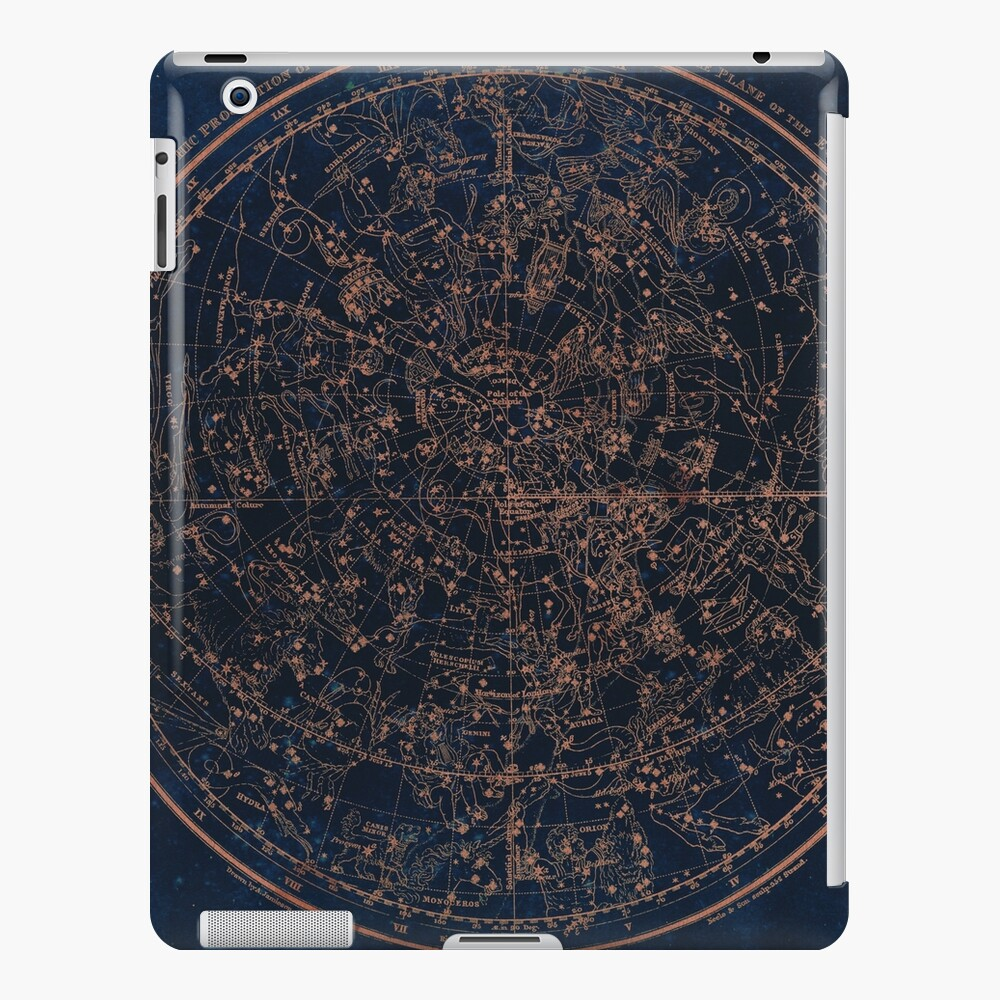 Constellations of the Northern Hemisphere iPad Case & Skin