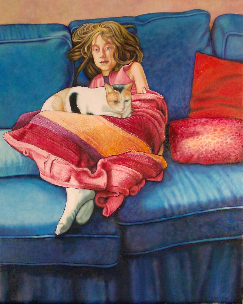 The Blue Couch by Eleanor Day