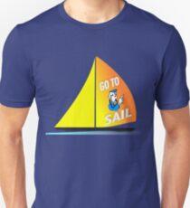 Go To Sail - Sailing Monopoly Cop - 02 T-Shirt