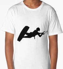 As High As A Kite Silhouette Long T-Shirt