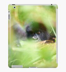 Crouching gorilla, hidden...gorilla iPad Case/Skin
