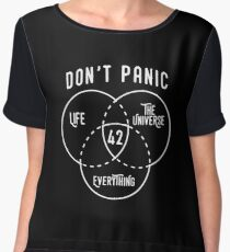 42 The Answer to Life, Universe, and Everything. Women's Chiffon Top