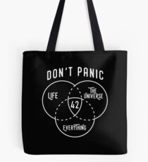 42 The Answer to Life, Universe, and Everything. Tote Bag