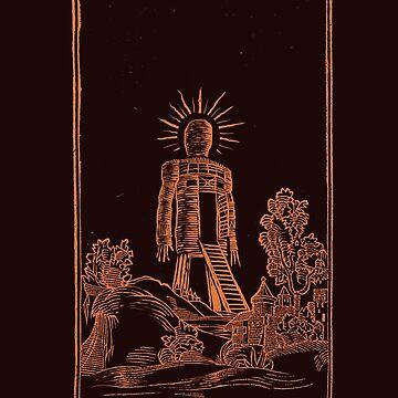 The Wicker Man by deimos-remus