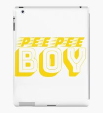 Pee Pee Boy iPad Case/Skin