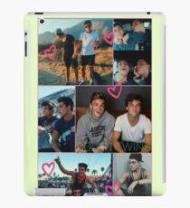 Dolan Twins collage 5  iPad Case/Skin
