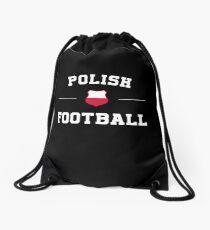 Polish Football Shirt - Polish Soccer Jersey Drawstring Bag