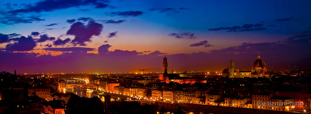 Florence Italy by BenjaminPhoto