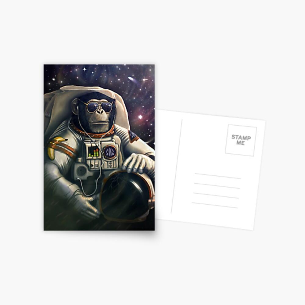 Space Farer Postcard