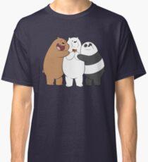 We Bare Bears - Redraw Classic T-Shirt