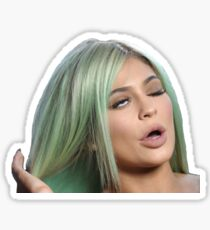 Kylie Eye Roll Sticker