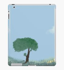 Tranquility in the Flower Field iPad Case/Skin