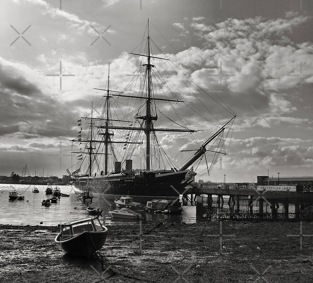 HMS Warrior  by Yampimon