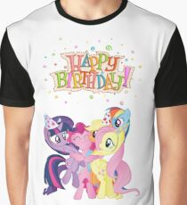 Happy Birthday with My Little Pony! Graphic T-Shirt
