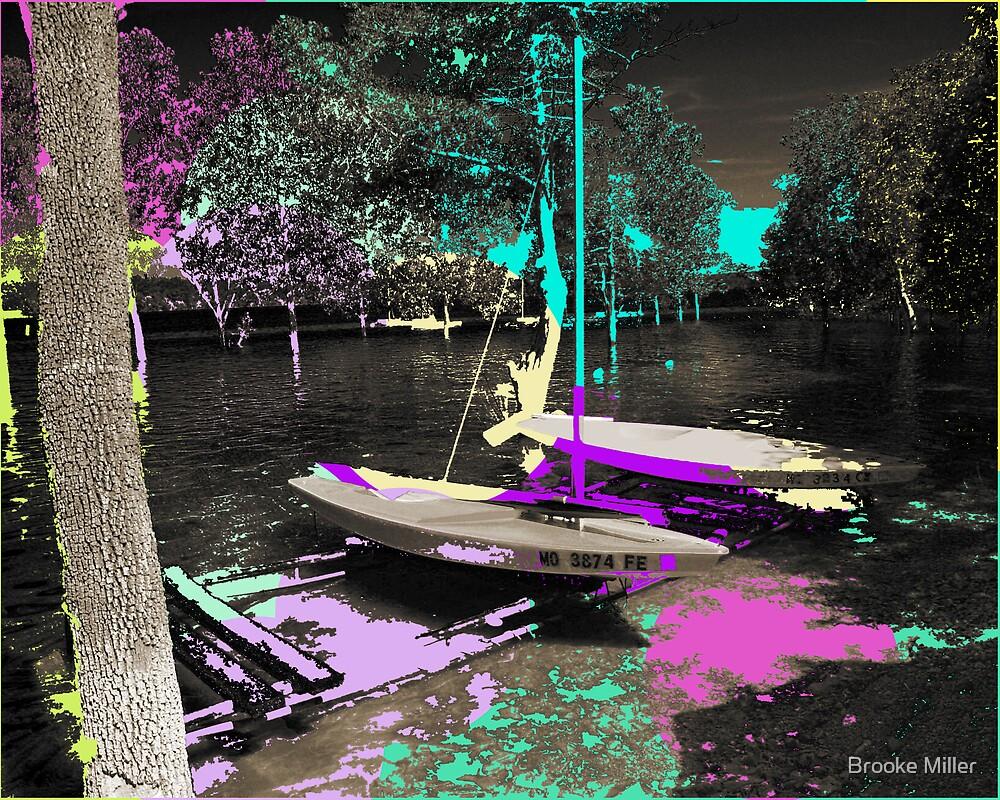Pop Sailboats by Brooke Miller