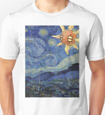 Pokemon Starry Night Solrock Unisex T-Shirt