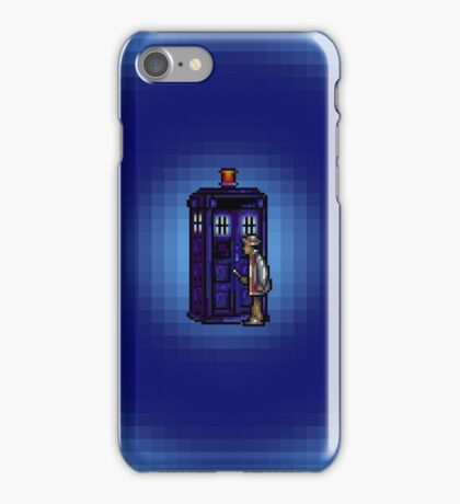 Time And Relative Pixels: Seventh Doctor iPhone Case/Skin