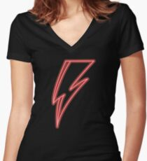 DavidBo #6 Women's Fitted V-Neck T-Shirt