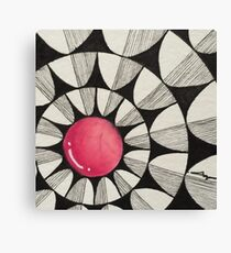 Popping in Pink HD Canvas Print