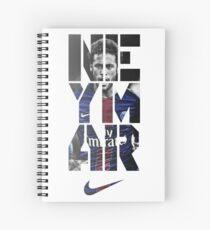 Cuaderno de espiral neymar