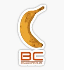 Banana Corporate Sticker