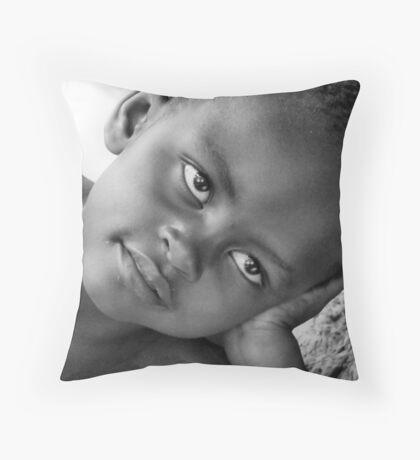 Baby Venus B&W Throw Pillow
