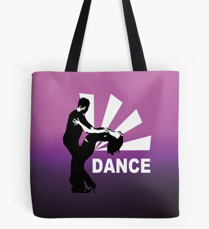 lets dance and have fun Tote Bag