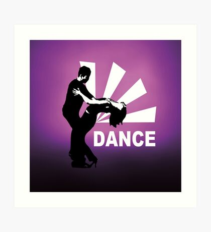 lets dance and have fun Art Print
