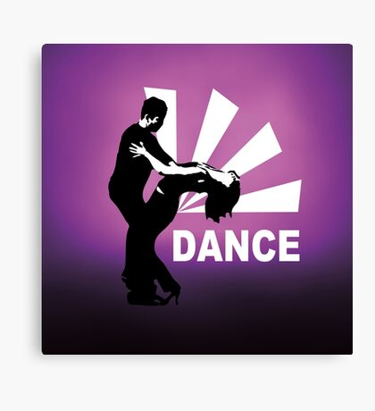 lets dance and have fun Canvas Print