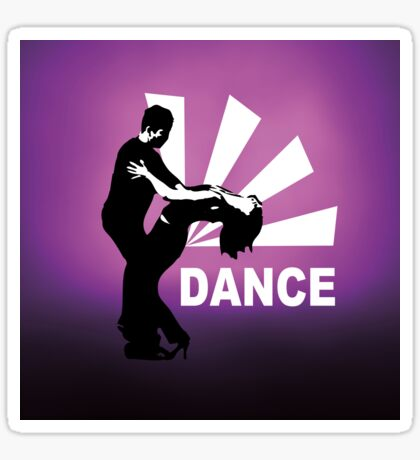 lets dance and have fun Sticker
